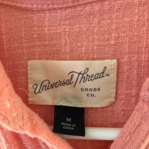 Universal Thread Tops - Universal Thread Coral Top